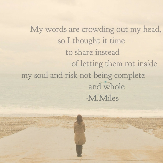 Miriam E Miles Poetry Link Picture