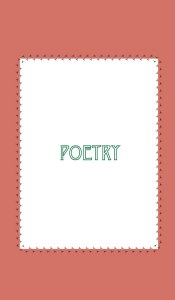 Miriam Miles store poetry category cover