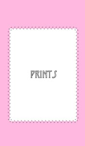 Miriam Miles store prints category cover