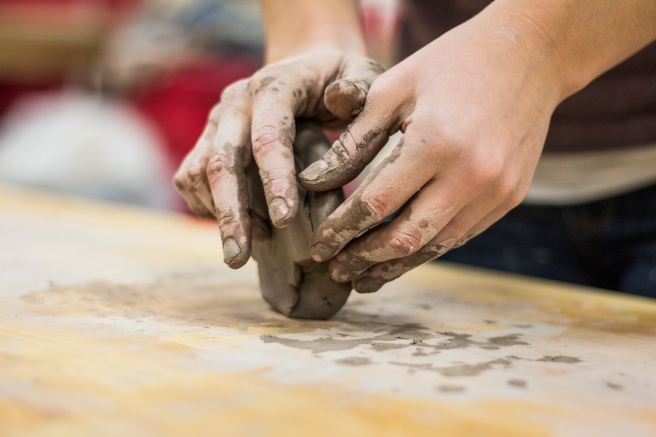 hands-and-clay